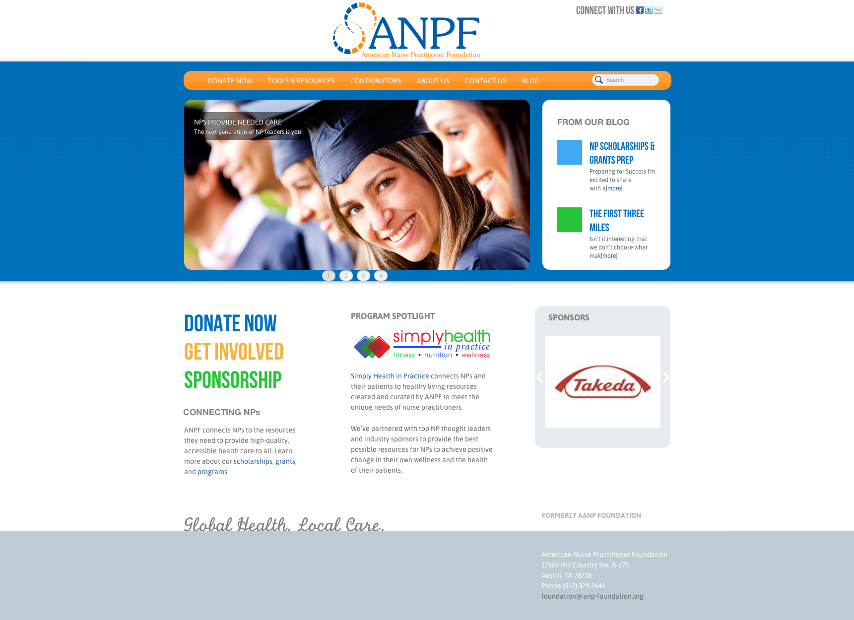 American Nurse Practitioner Foundation Website