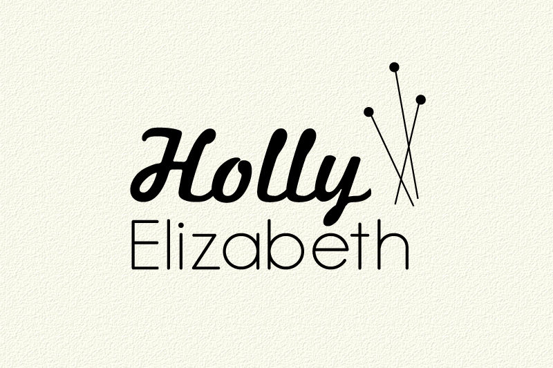 Concept for Holly Elizabeth Logo Design
