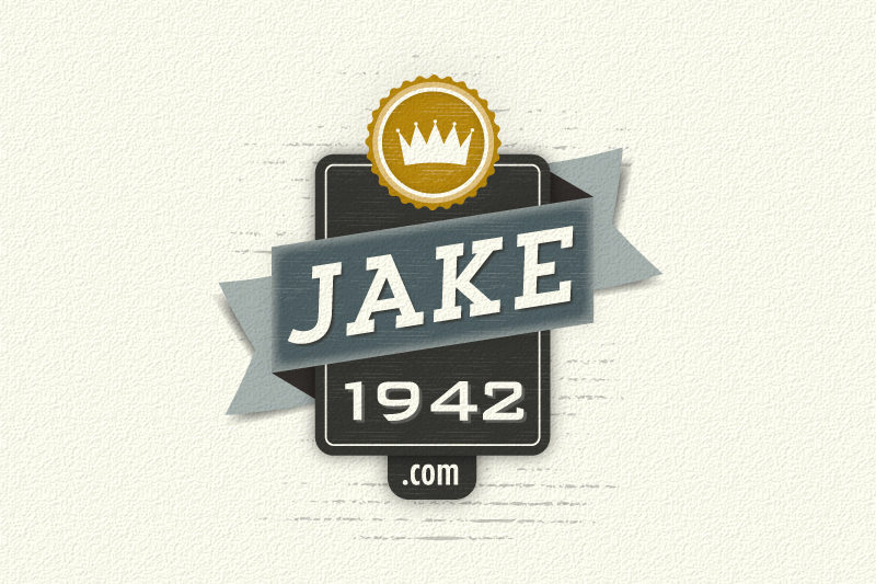 Jake1942 logo design