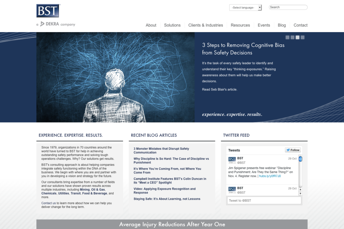 BST Solutions Site