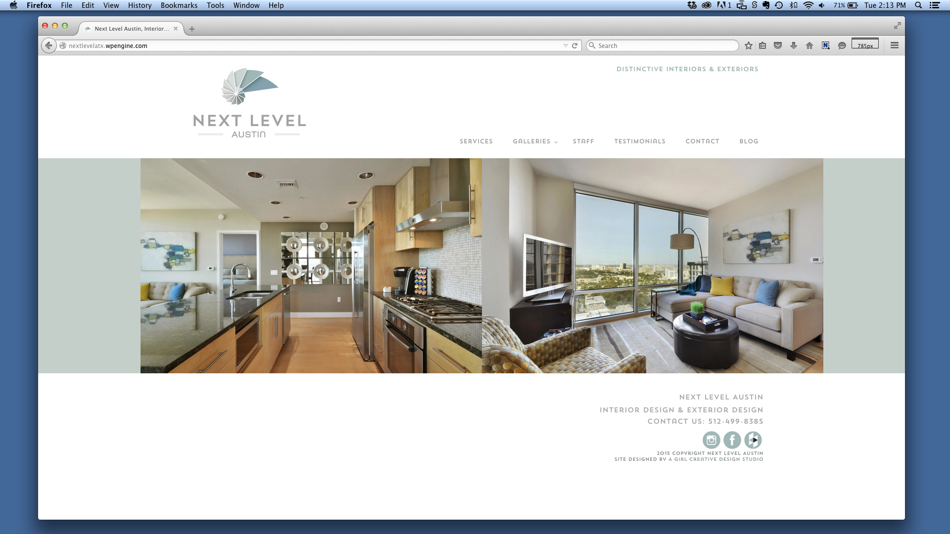 Next Level Austin Web Design