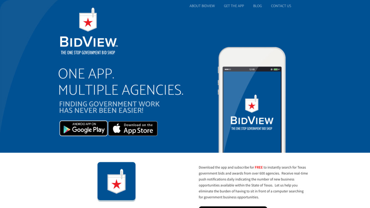 Bidview Site Design