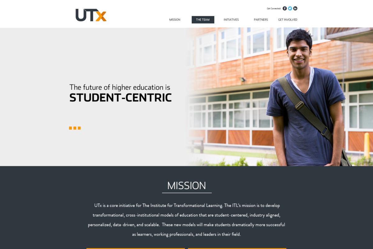 UTx Microsite