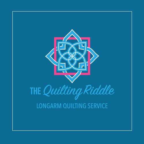 Quilting Riddle Logo Design