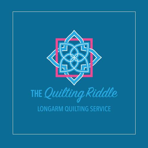Quilting Riddle Logo Design