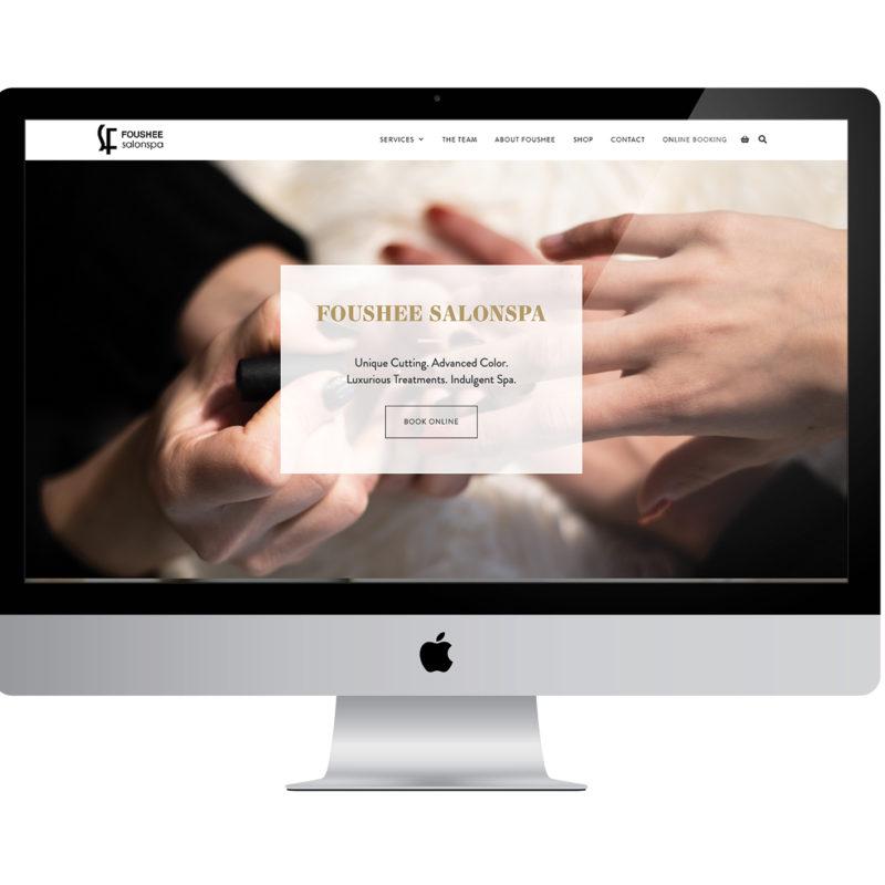 Foushee Salon Spa Home Page